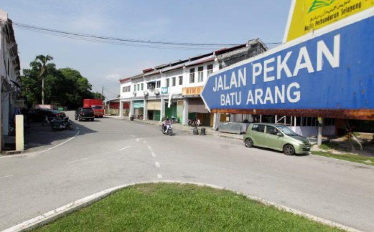 BATU ARANG ( FILE PIX DATED - 23 May 2014 ). Pekan Warisan Batu Arang yang terletak 46 Kilometer dari Bandaraya Kuala Lumpur dan Pekan Batu Arang masih mengekalkan Struktur pembina di zaman peneroka Arang Batu. NSTP/Zunnur Al Shafiq